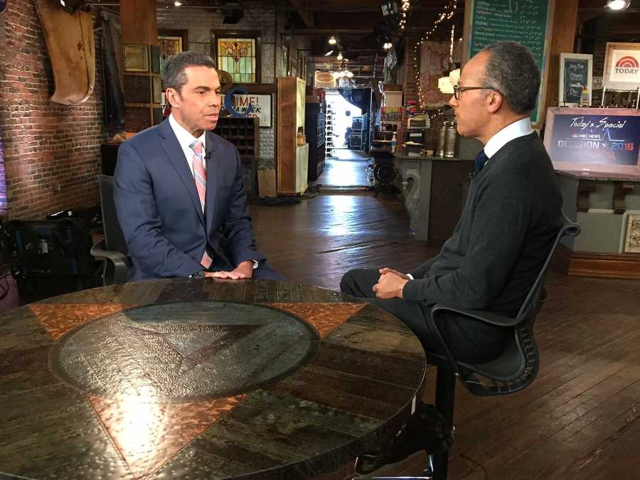 KCRA's Gulstan Dart sat down with NBC Nightly News' Lester Holt in Iowa to talk about  caucus coverage on Monday, Feb. 1, 2016.
