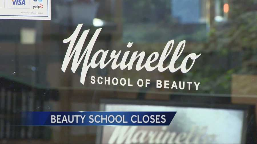 ... Photo taken at Marinello School of Beauty by Micah W. on 1/28/ ...