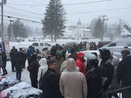 KCRA's Edie Lambert and David Bienick are in New Hampshire to cover the nation's first primary of 2016. See photos from the Granite State.