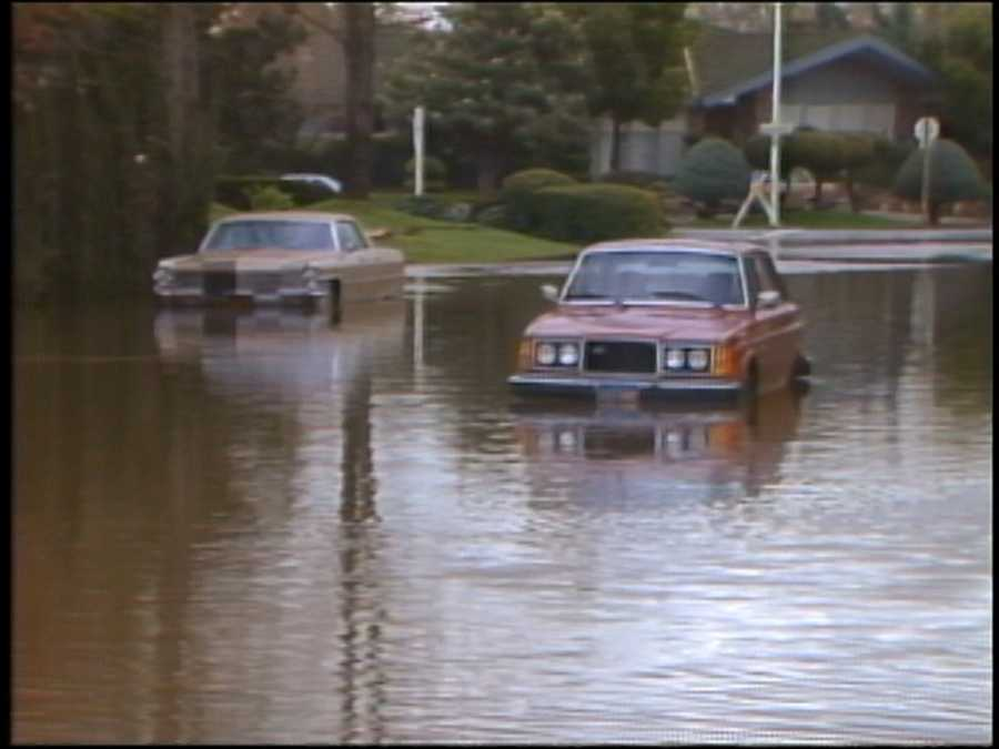 Thirty years ago, one of the costliest and devastating storms in the history of Northern California moved through the region. Three storms dropped recording-breaking amounts of rain over nine days. Photos from KCRA archives show the flooding and destruction caused by the storms: