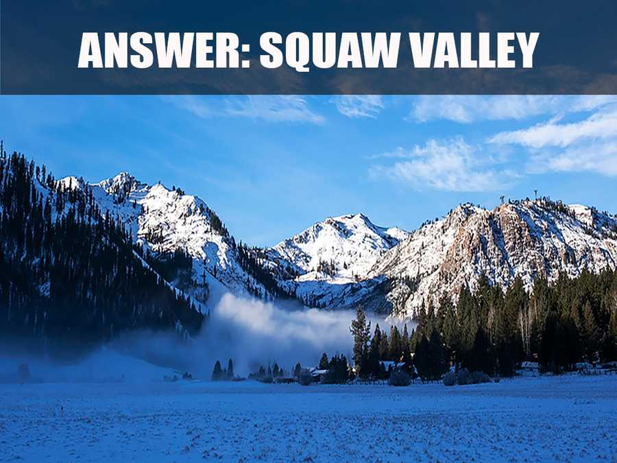 Squaw Valley was the host of the 1960 Winter Olympics. (Source: http://squawalpine.com/skiing-riding/mountains/squaw-valley-ski-resort)