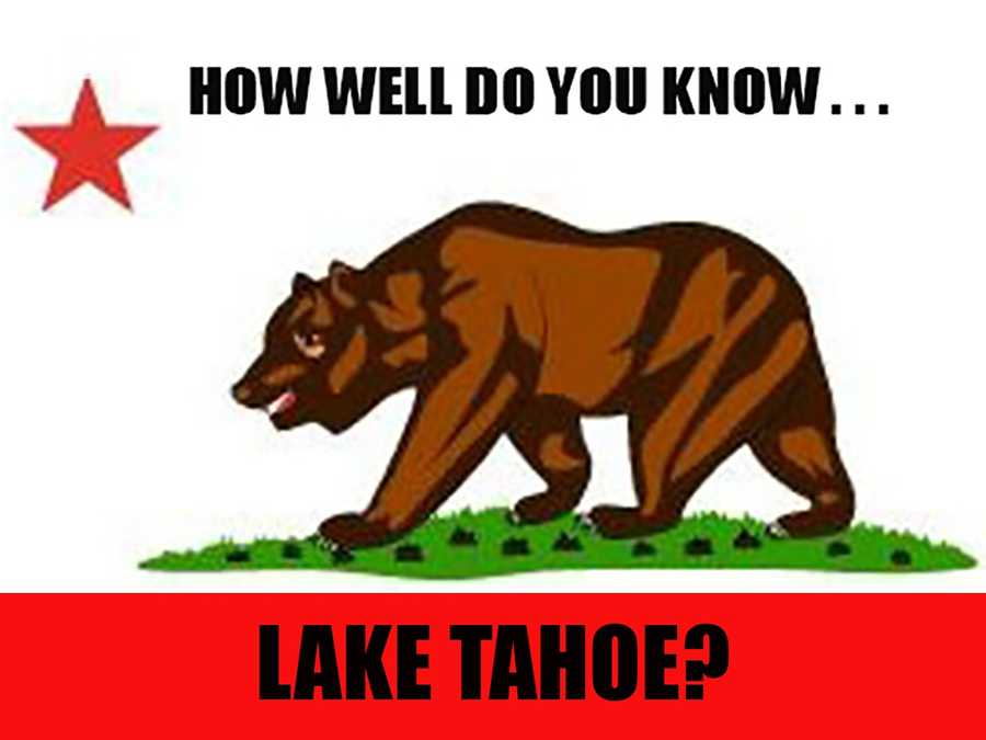 So you think you're an expert when it comes to knowing all the hot spots in Lake Tahoe? Let's put your knowledge to the test and see if you can recognize these 14 places in Lake Tahoe.