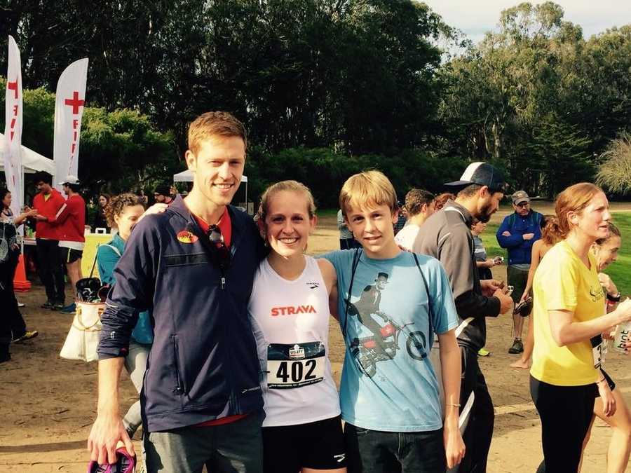 Kaitlin and Brendan Gregg competed in cross country and track at Davis High School.