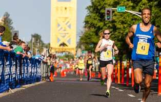Kaitlin Gregg Goodman competes in the Sactown 10.