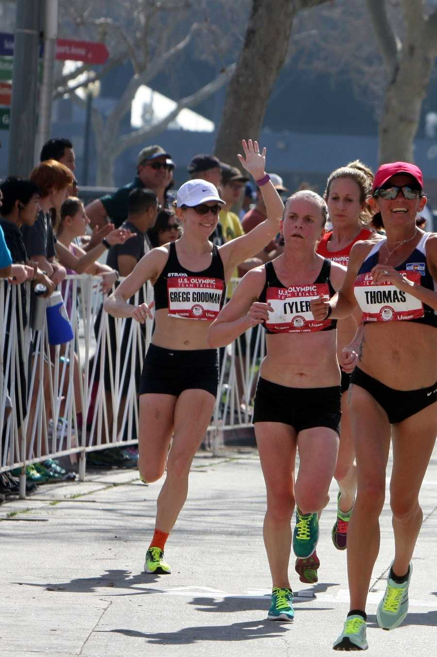 Kaitlin Goodman Gregg came in 54th out of 149 finishers in the women's U.S. Olympic Marathon Trials.