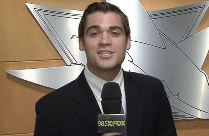 13.) In college, I interned with the San Jose Sharks broadcast department.