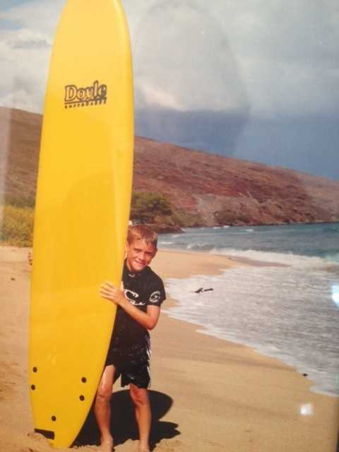 19.) Hawaii is my favorite vacation spot in the United States. It's where I learned to surf!