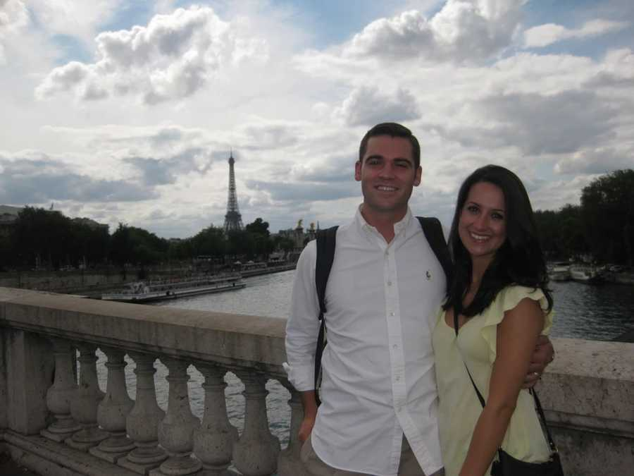 20.) Paris is my favorite vacation spot in Europe (here's the honeymooners).