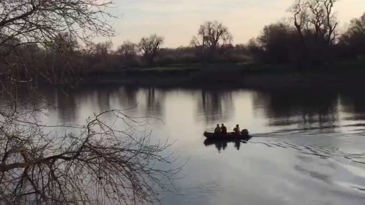 The Sacramento Fire Department recovered a man's body from the Sacramento River on Tuesday, Feb. 16, 2016.