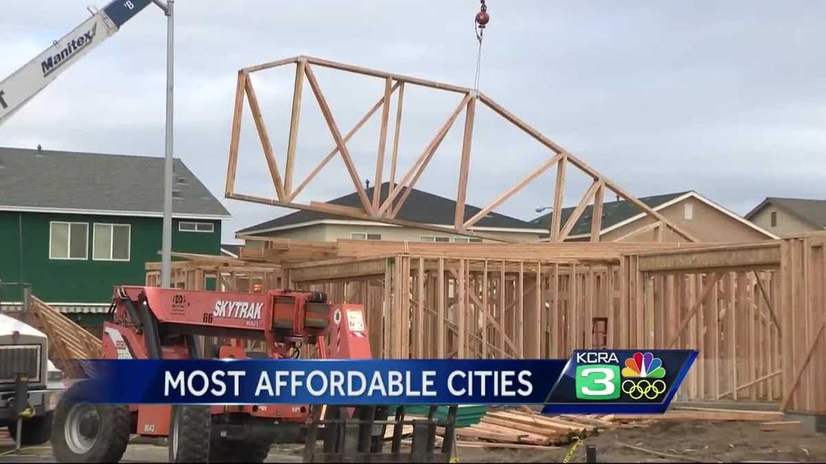 Study Central Valley Cheapest Area In California