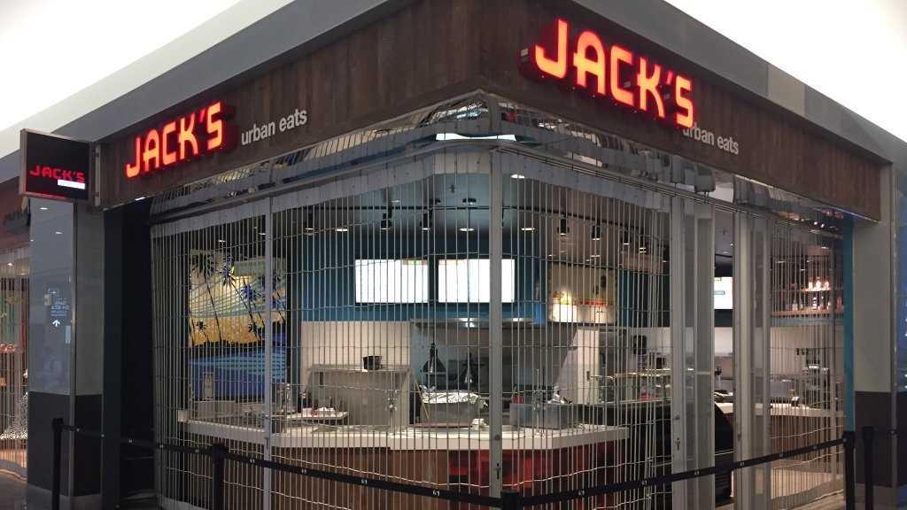 Jacks Urban Eats at Terminal 2 in Sacramento International Airport.