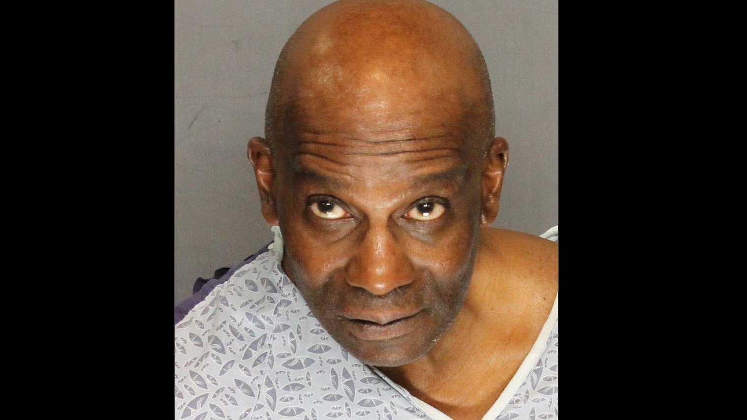 Rafael Watts, 59, was booked into San Joaquin County Jail on Wednesday, Feb. 24, 2016, in connection to the stabbing death of a retired police officer the day before, the Stockton Police Department said.
