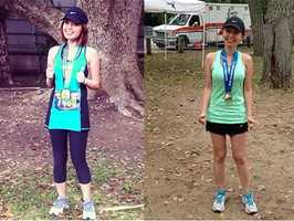 10.) I've completed two full marathons and five half marathons so far.