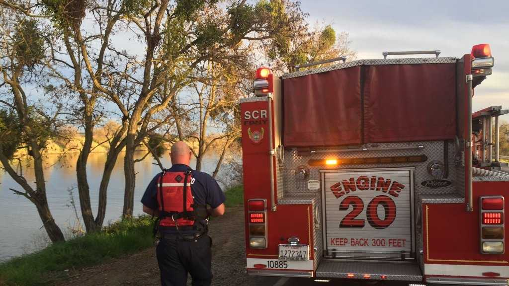 Fire crews have recovered the body of a man from the Sacramento River.