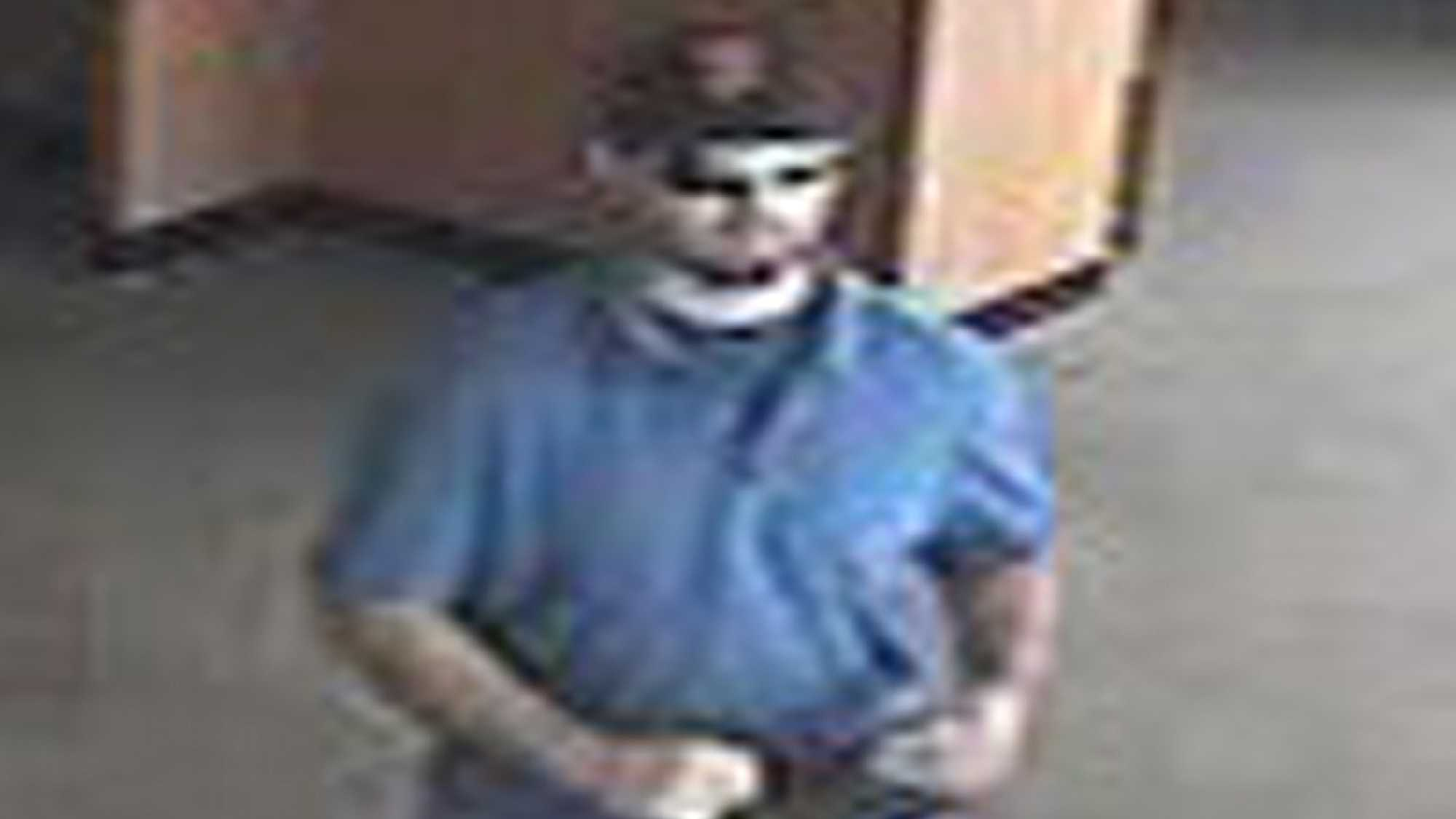 Police are looking for a man suspected of robbing a Chase bank in Elk Grove on Tuesday.