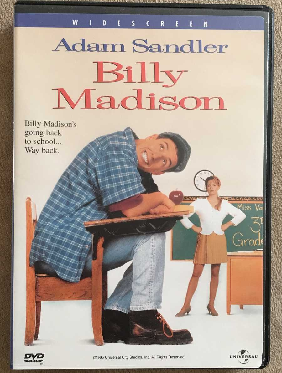 """11.) My favorite movie is """"Billy Madison."""" It always makes me laugh. Come on, you know you like it too!"""