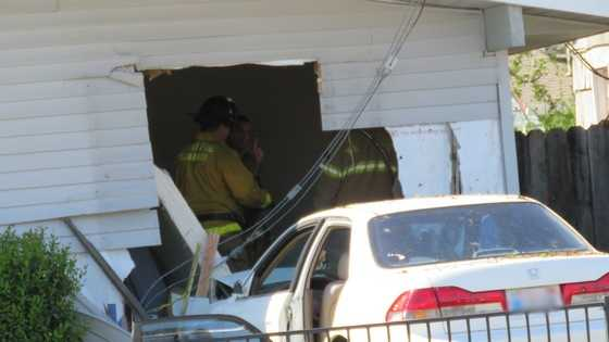 A car crashed into an Arden-Arcade area home on Tuesday, March 15, 2016, the Sacramento Metro Fire said.