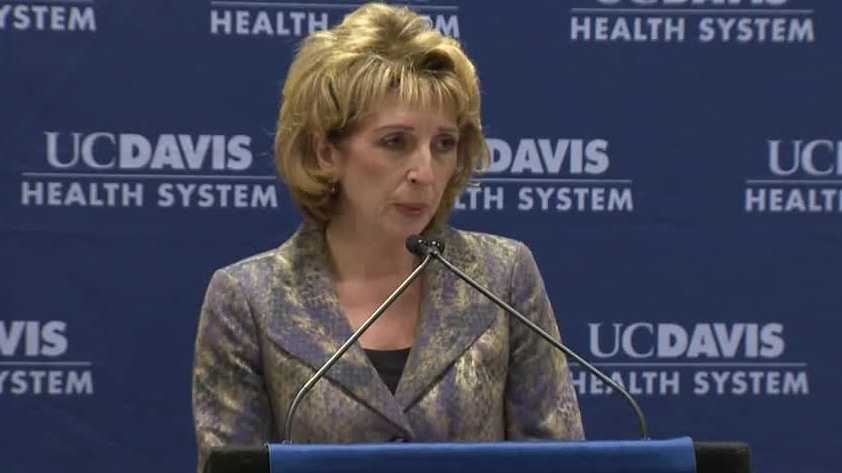 University of California - Davis Chancellor Linda Katehi
