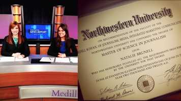 8.) I left CAA to get my Master's in Journalism back home in Chicago. I attended the Medill School at Northwestern and spent a semester in Washington, D.C. covering national security.
