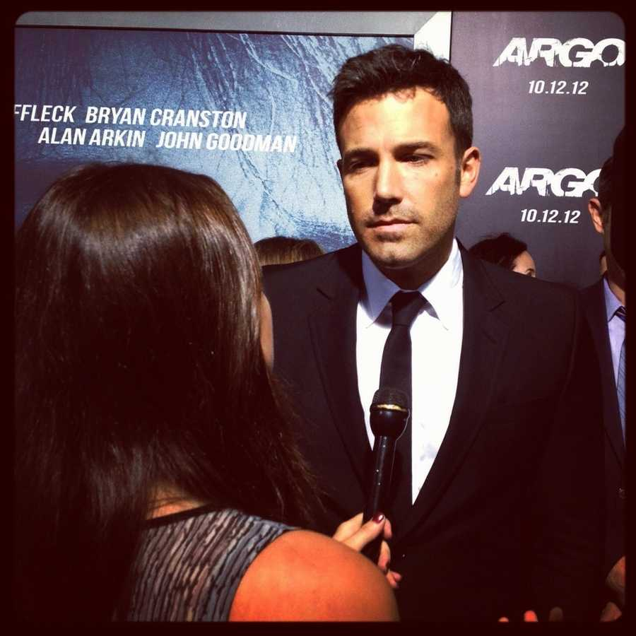 "24.) My celebrity crush is Ben Affleck. I interviewed him for Reuters TV at the ""Argo"" premiere and had butterflies."