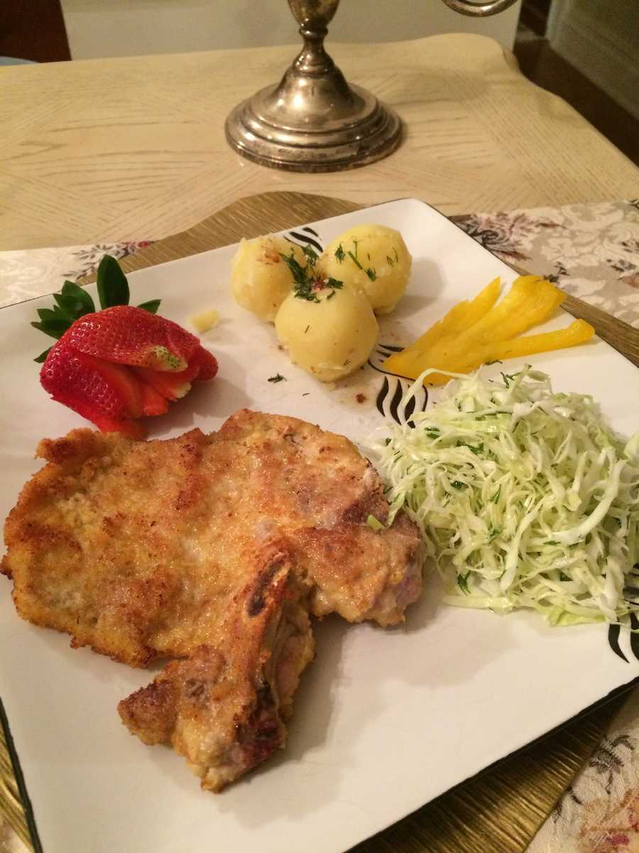 15.) My favorite Polish meal is my mom's amazing kotlet schabowy. I try to make it myself, but it just doesn't taste as good as when she does it. If anyone knows where I can get some Polish food in Sacramento, let me know!