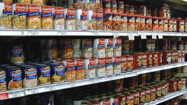 File Photo: Canned food
