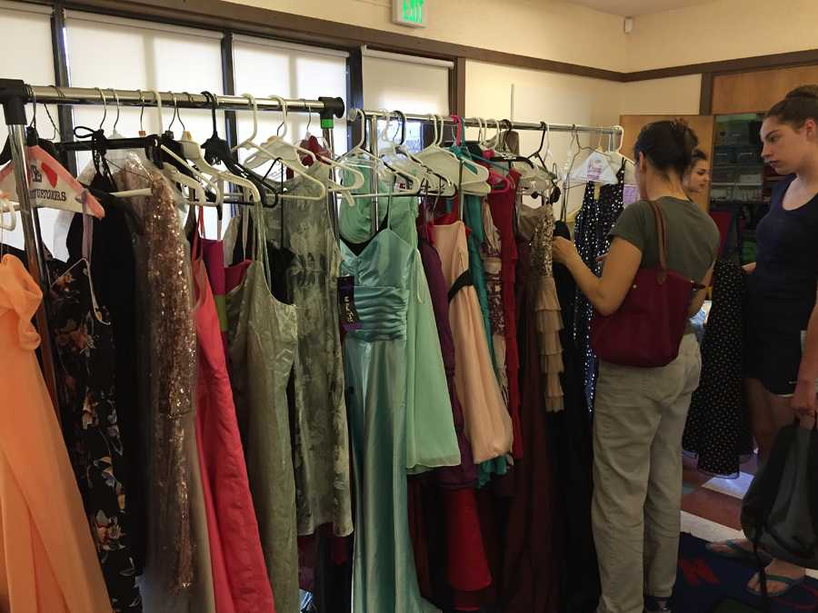 The Sacramento Public Library is lending students a hand for prom. Events across library branches are giving students free formal wear for their school dance. The dresses and tuxedos are donated for the annual event. Here are photos from the prom giveaway at the Arden-Arcade Library Branch on Friday, March 25, 2015.
