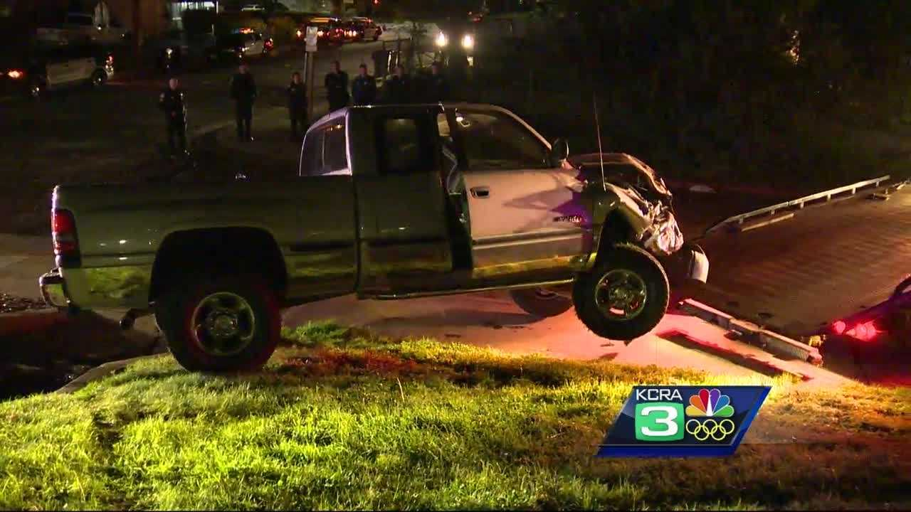 Sacramento County sheriff's deputies said a man led them on a high-speed chase Tuesday morning.