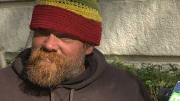 Eric Benson has been homeless in Sacramento for three months. He said living day to day on the streets is hard, and he tries to find a place to go without police conflict. Watch his story here.