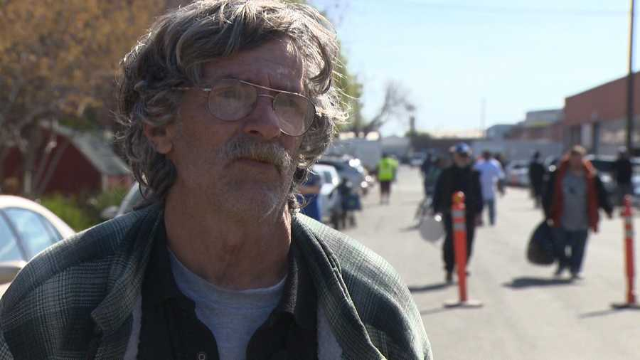 Larry Peters has been homeless in Sacramento for one year. He said after the people he was living with got evicted, he lost everything. Watch his story here.
