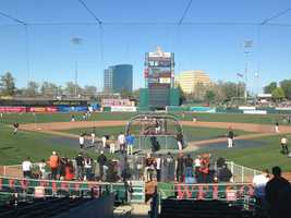 The field in West Sacramento will begin hosting regular season games on April 15.