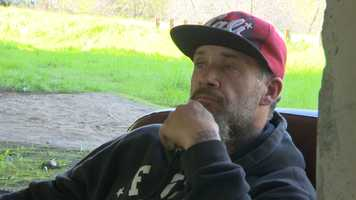Robert Vincenzi has been homeless in Sacramento for six years. He said no one would give him a chance at a job because he has been in jail. Watch his story here.
