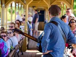 What: RiverTrain Excursions (April)Where: Sacramento RiverTrain - West SacramentoWhen: Fri 6:30pm-8:30pm&#x3B; Sun 11am-1pmClick here for more information about this event.