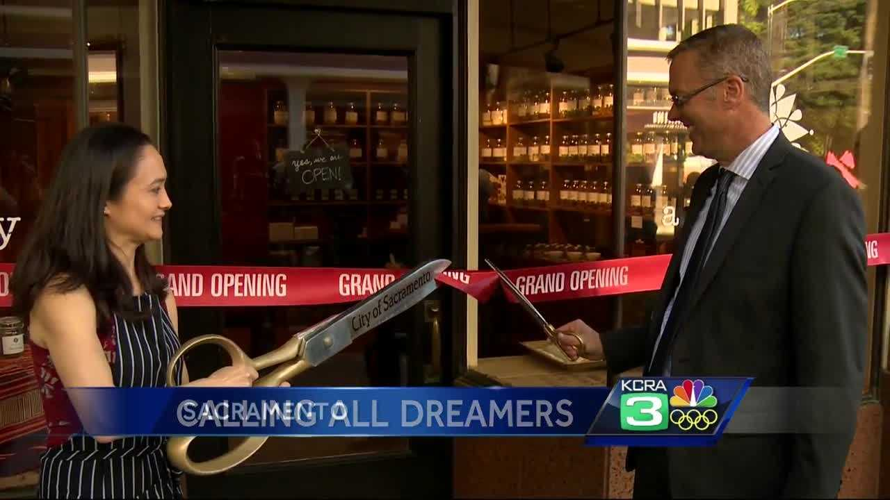 Welcome to the newest business in downtown Sacramento.