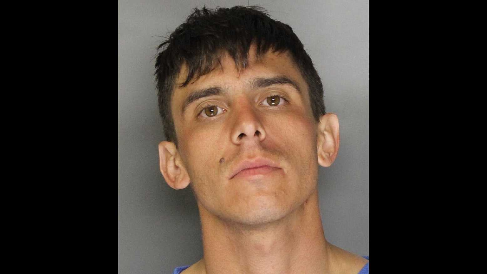 Austin Barry Scott, 28, was arrested April 7, 2016, in connection with a hit-and-run crash that injured a California Highway Patrol officer, the CHP said.