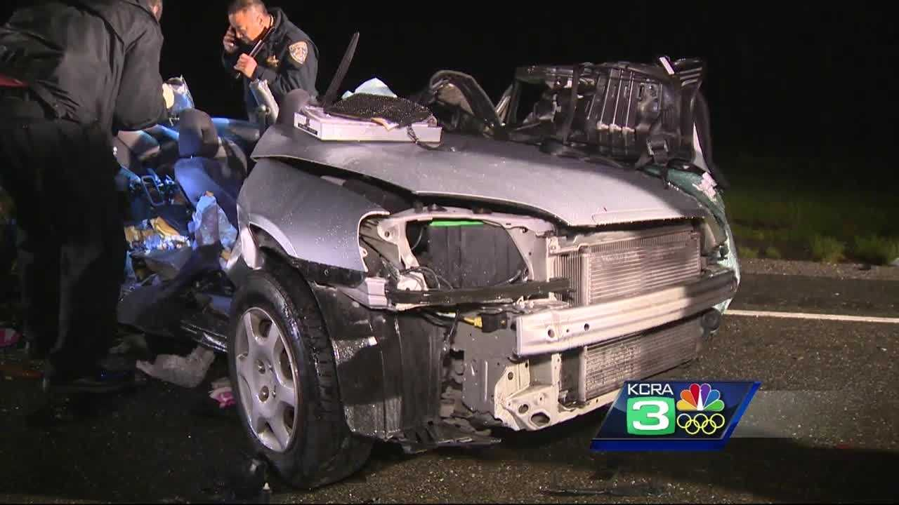 Two women, a teenager and two toddlers were killed in a head-on crash Saturday evening on Highway 12 in Sacramento County, the California Highway Patrol said.