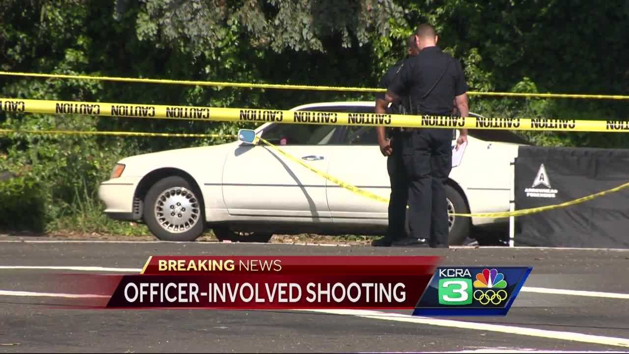 Stockton police are investigating an officer-involved shooting in the area of West Lane and Knickerbocker Drive.