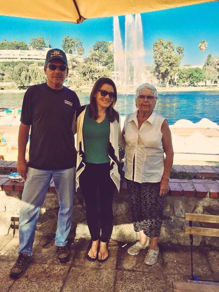 4.) My father and abuelos (grandma and grandpa) are from Guadalajara, Mexico.