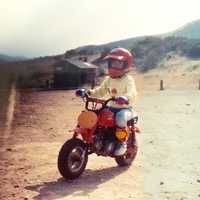 14.) My parents even bought me a dirt bike when I was in kindergarten.