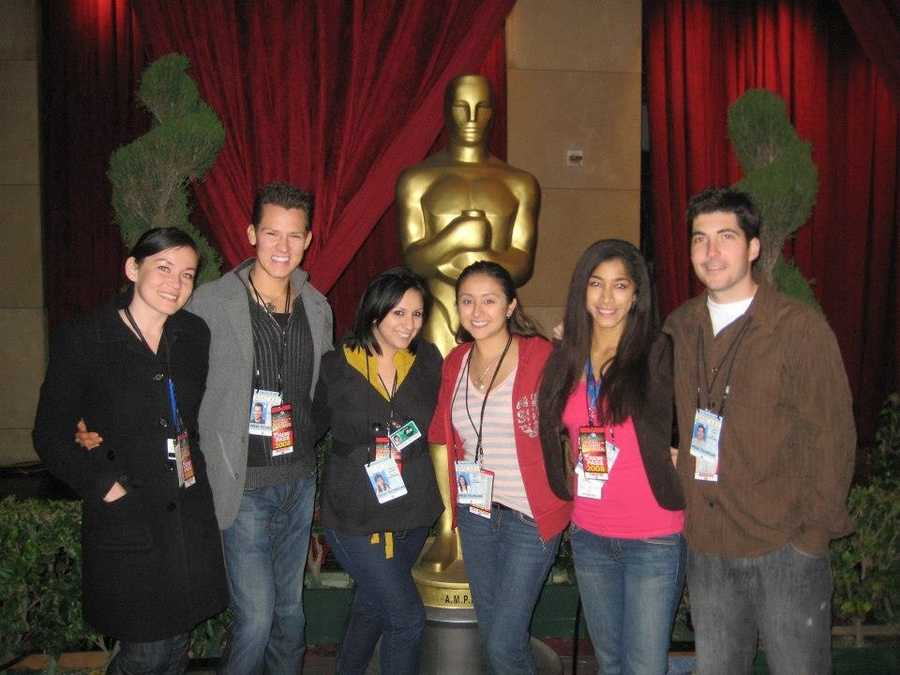 20.) One of my first jobs after graduating from UC Berkeley was working at ABC News in Los Angeles. A highlight was working the Oscars!