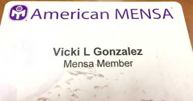 21.) I am a member of Mensa.
