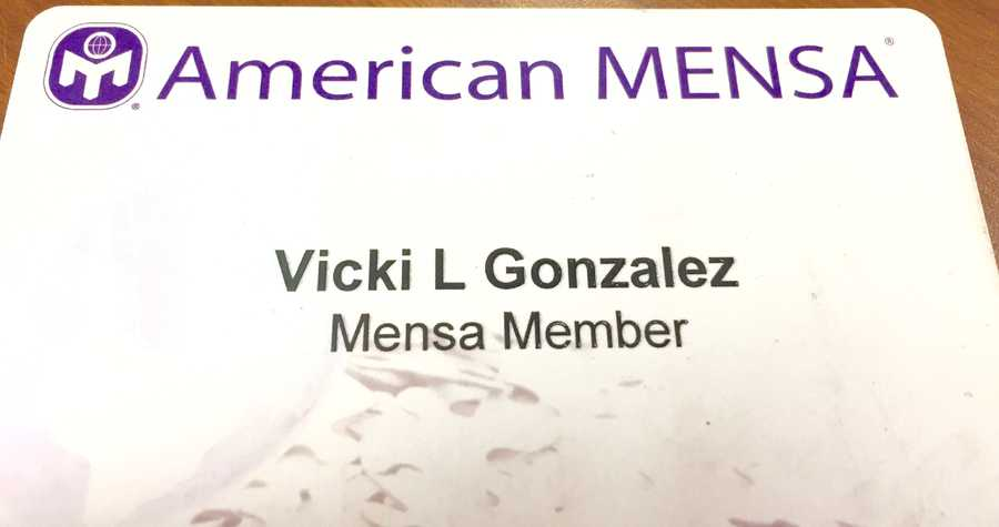 21.) I am a member of Mensa.