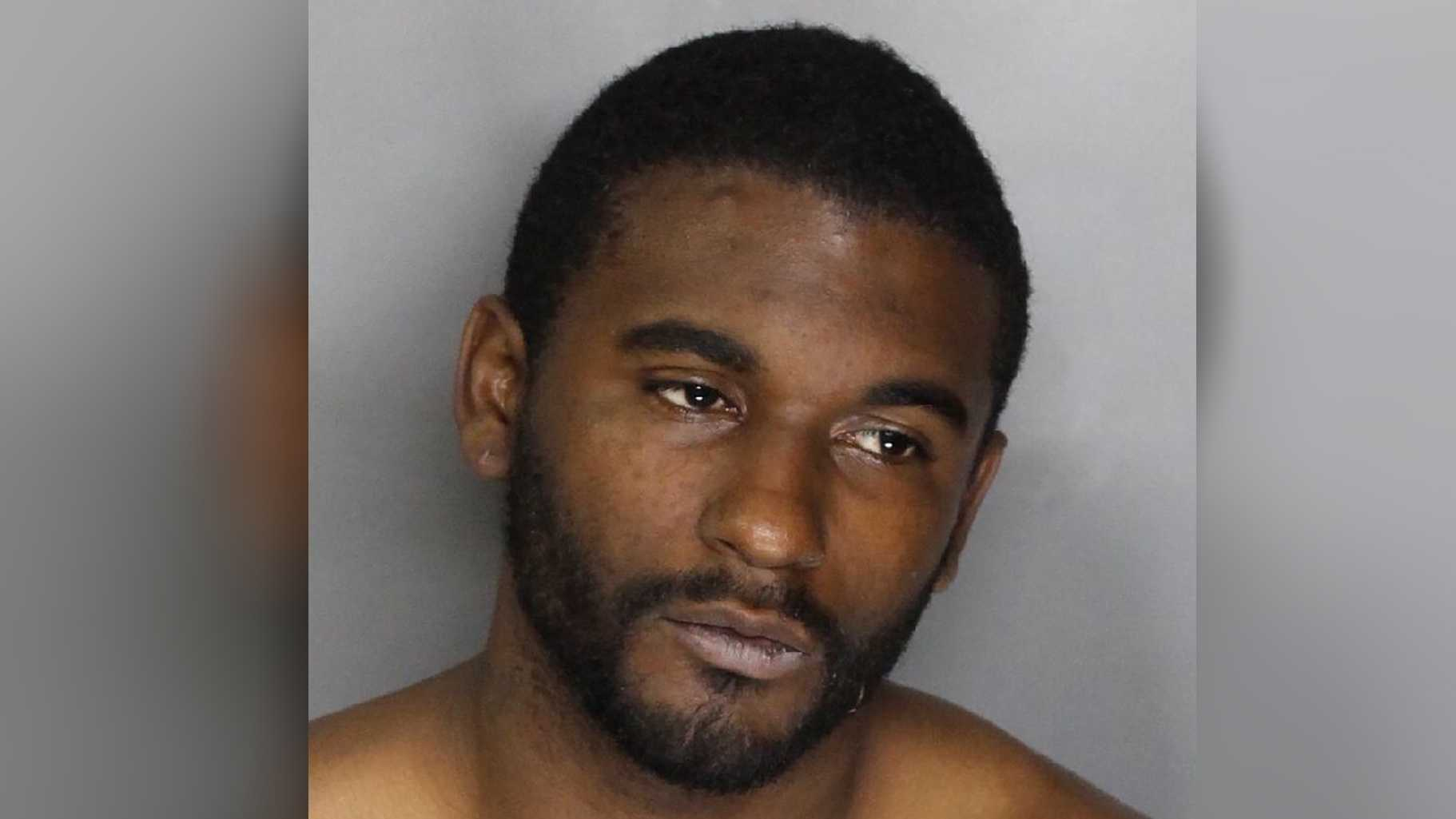 Edward Robinson, 26, led police on a car chase before he was arrested in south Sacramento.