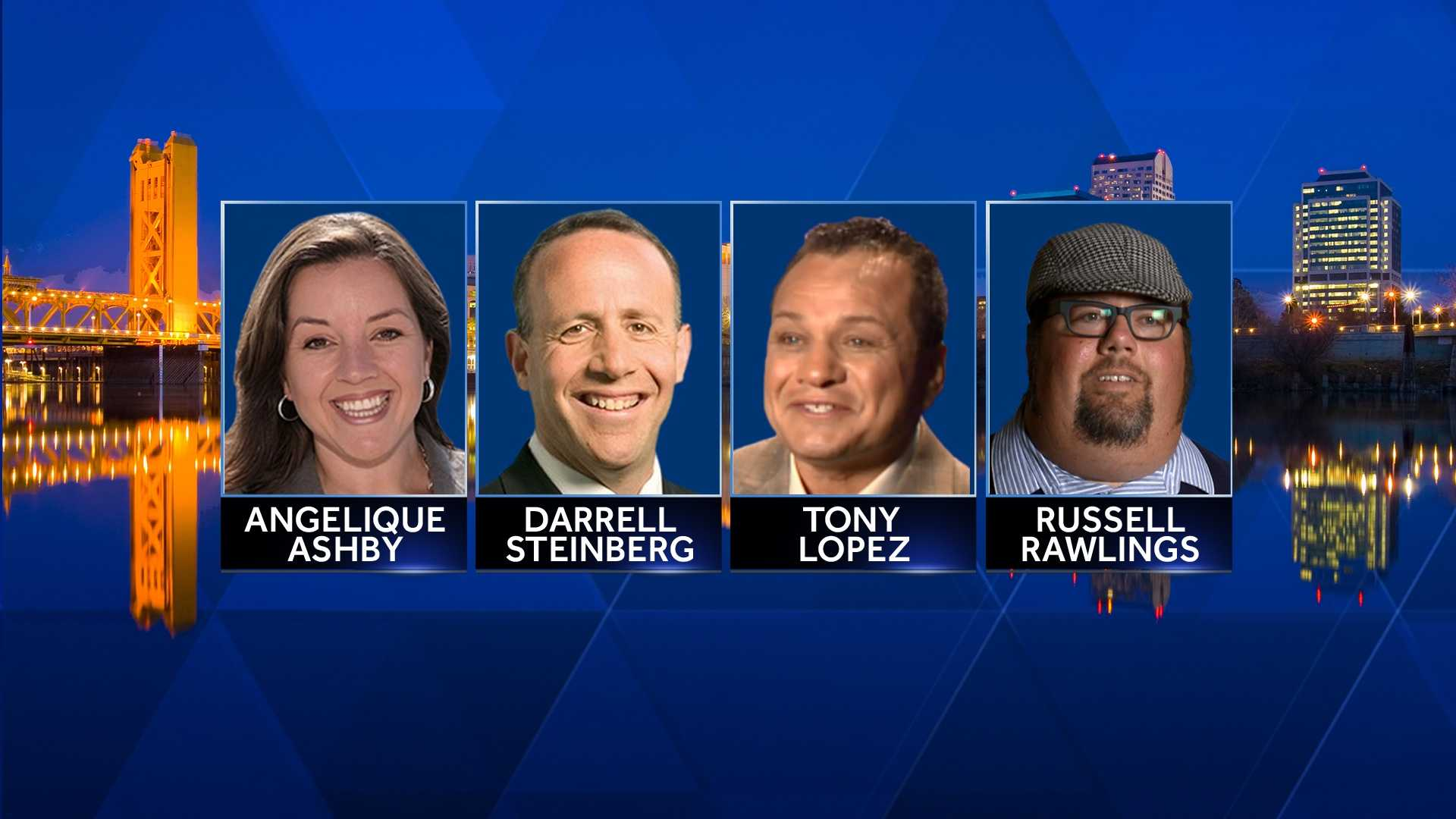 Sacramento mayoral candidates (April 23, 2016)