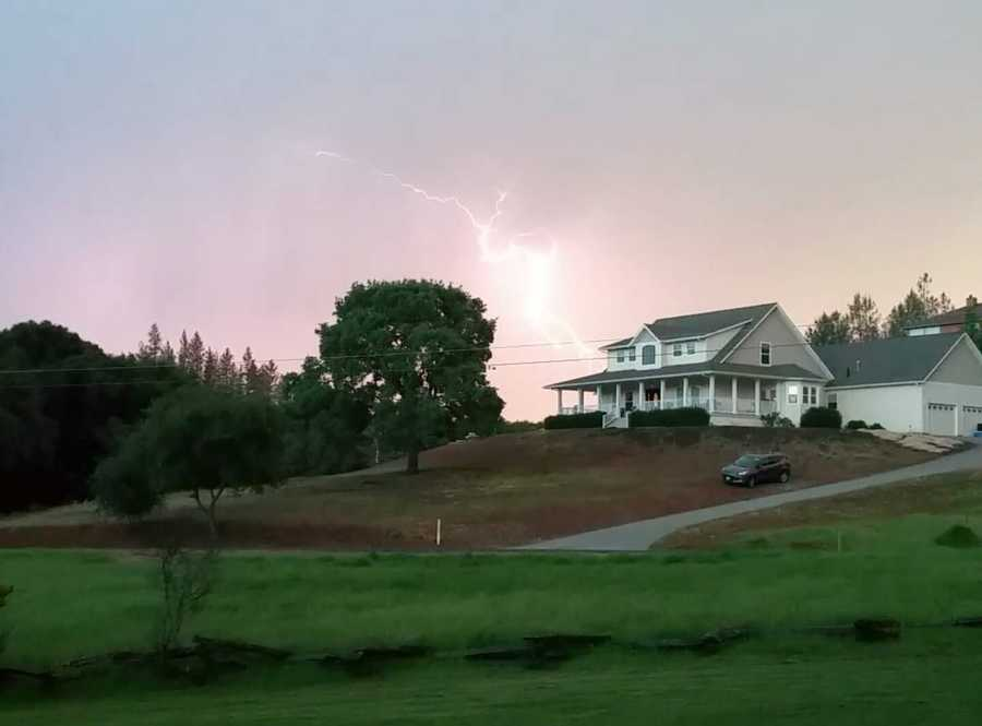 A thunderstorm moved through Northern California on Sunday evening, prompting many people to grab their cameras. Check out these awesome photos of the storm captured by KCRA 3 viewers.