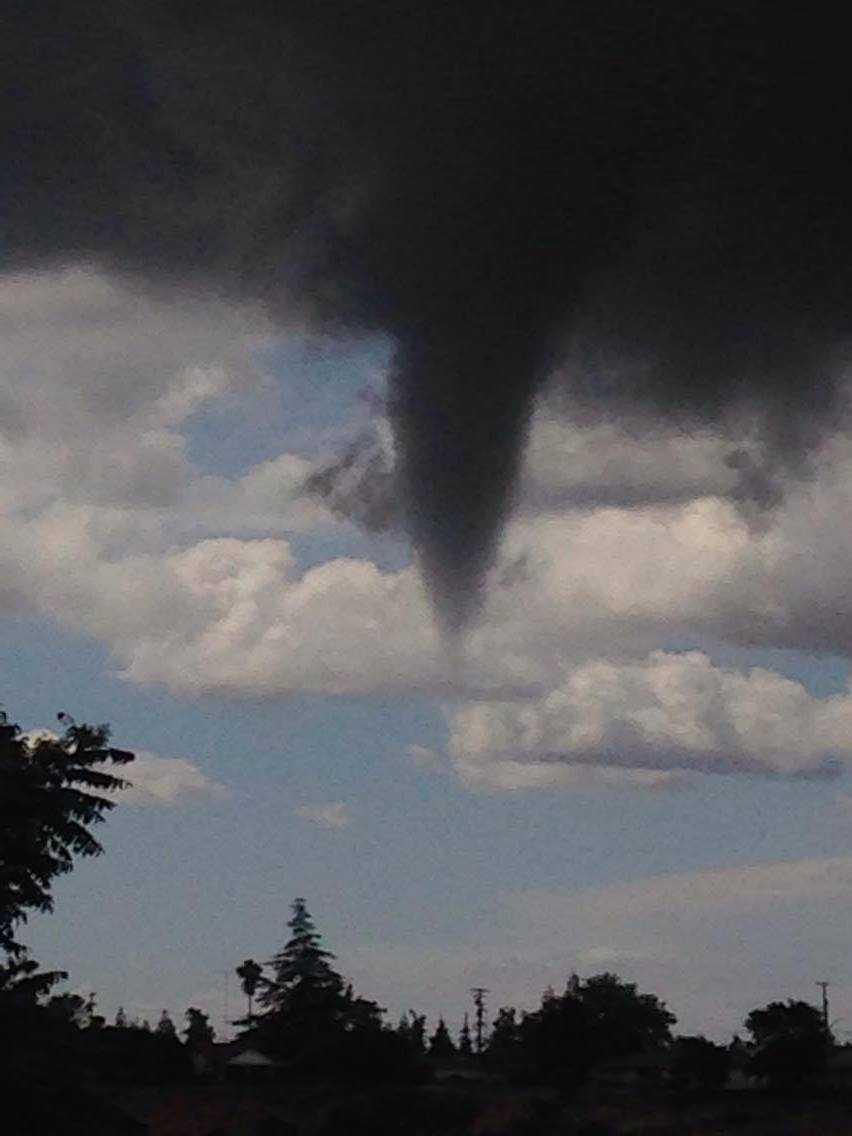 Funnel cloud seen in Hickman.