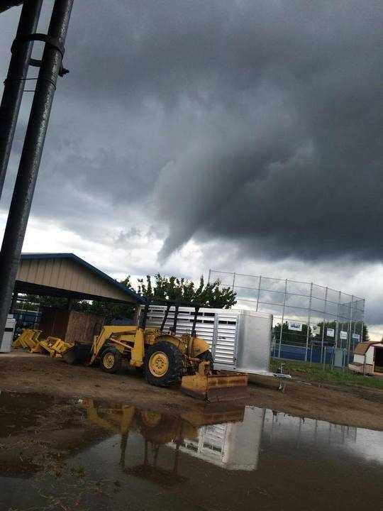 Funnel cloud seen in Waterford.