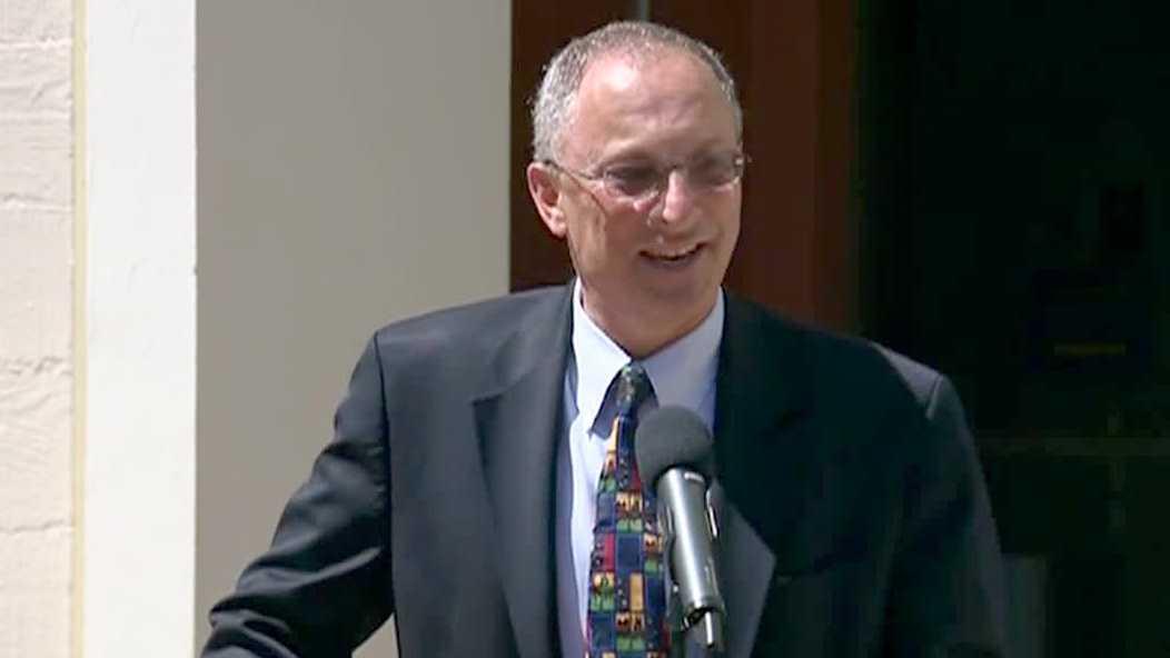 Acting UC Davis Chancellor Ralph Hexter