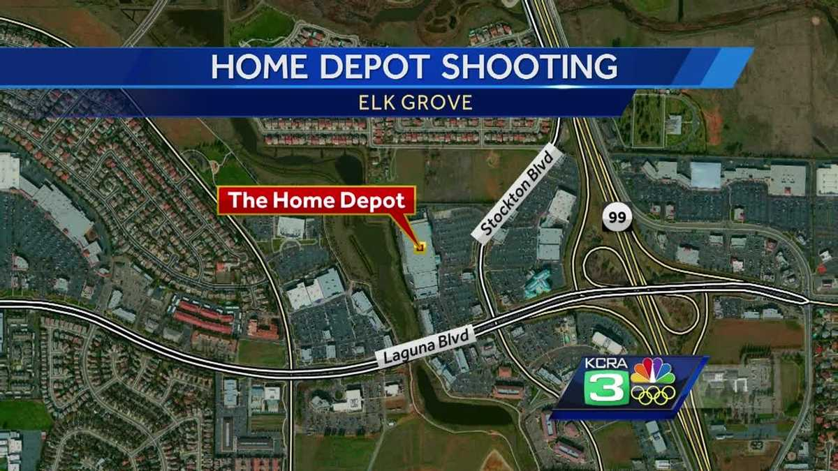 Police Investigate Shooting At Elk Grove Home Depot