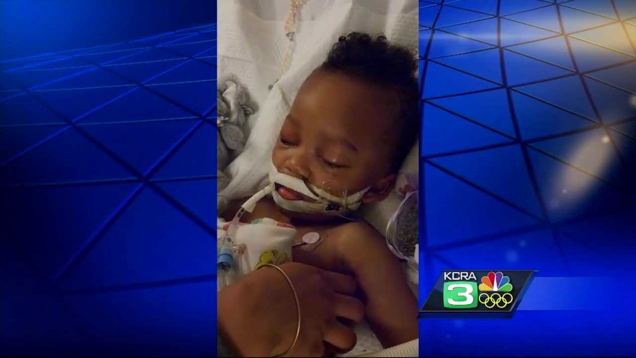 The case of Israel Stinson, a toddler on life support, is in federal court Wednesday afternoon, where the family wants more time